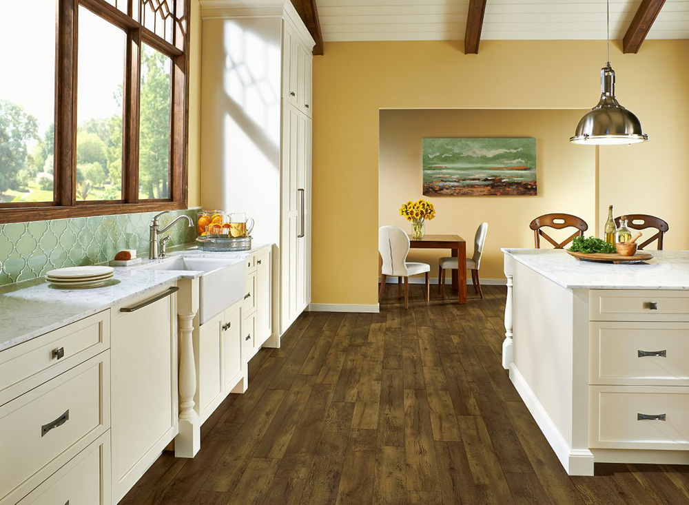 Armstrong Rugged Brown Farmhouse, FasTak Vinyl Plank , A6715