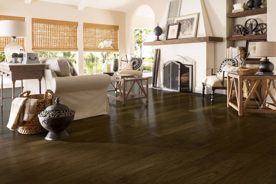 Armstrong Dark of Midnight Walnut, American Scrape, EAS606