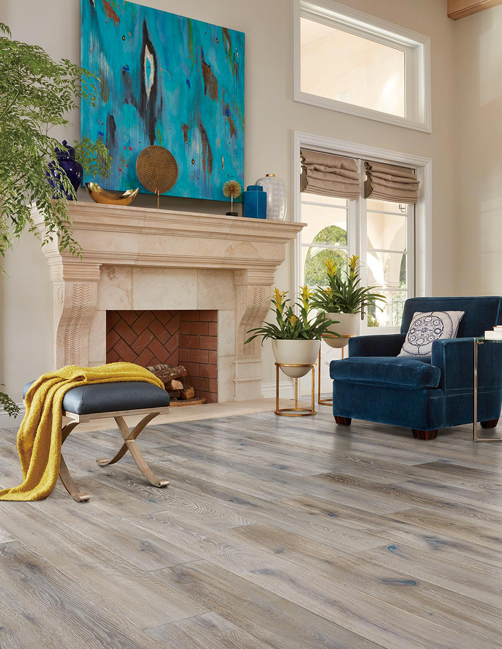 CALIFORNIA CLASSICS MONACO FRENCH OAK, MEDITERRANEAN, MCMN692, Hardwood Flooring, Laminate Floors, CA, California